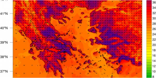 Heatwaves in West and South Europe