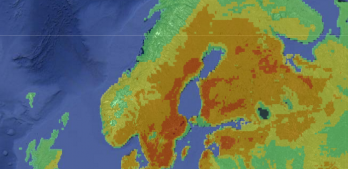 Finland hot days