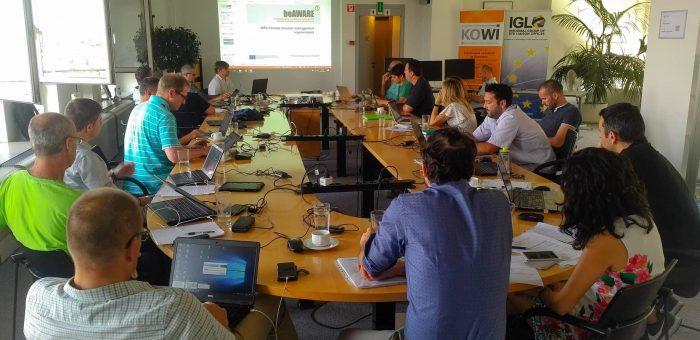 Review preparation meeting in Brussels