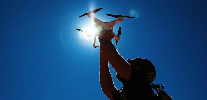 Drones to the rescue – bringing muscle to weather crisis management