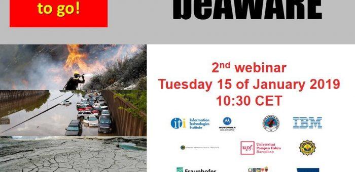beAWARE Heatwave Pilot Webinar!